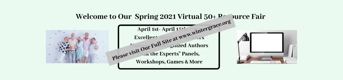 Spring 2021 Virtual 50+ Resource Fair